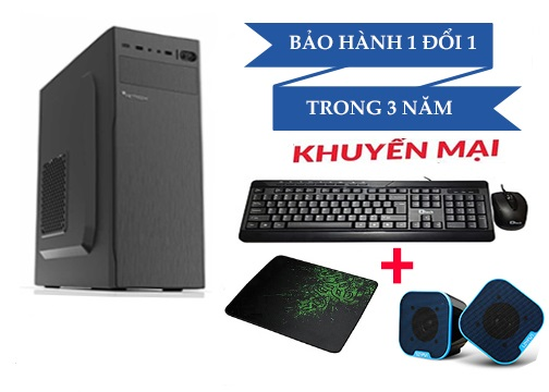 Main H410M Cpu i3-10100 Ram 8GB HDD 500G+SSD 120G